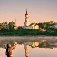 Рыбалка на Сухоне :: Валерий Талашов