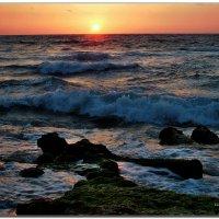 Вечернее море. :: Leonid Korenfeld