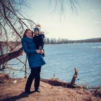 вид на озеро :: Оксана Ушанкова