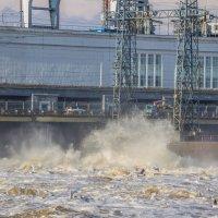 Камская ГЭС :: Константин Каменский