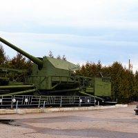 Железнодорожная артиллерийская установка ТМ-1-180 (транспортер морской, тип 1, калибр 180 мм) :: Владимир Болдырев