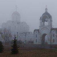 Церковь в тумане :: Marina Karaseva