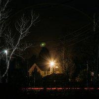 Ночь, деревня, НЛО :: Александр Решетников