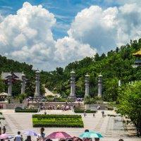 Центр Буддизма Нань Шань. Хайнань. Китай. :: Rafael