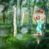 Первя скрипка в берёзовом оркестре!))) :: Ольга Егорова