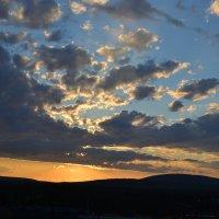 Вечернее небо :: Ольга