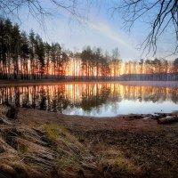 Озёрный рассвет..3 :: Андрей Войцехов