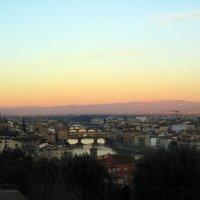 Рассвет над Флоренцией :: Lukum