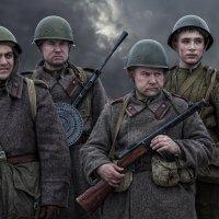 ...Солдаты войны..... :: Виктор Перякин