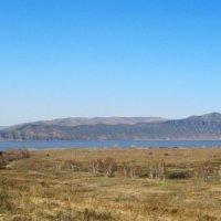 г.Туран и Красноярское водохранилище :: Любовь Иванова