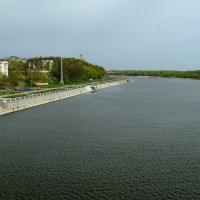 Гомель.Вид на р.Сож с автомобильного моста. :: Юрий Анипов