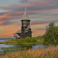 Успенская церковь в Кондопоге. :: Виталий Внимательный.