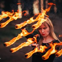 Повелительница огня :: Nina Zhafirova