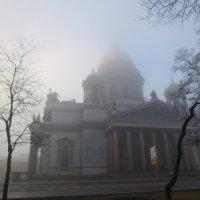 Исаакмй в туманном рассвете :: Елена