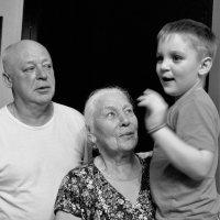 Разница поколений :: Анастасия Алёшина