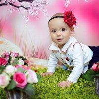 Детская фотосессия в студии Аквамарин :: марина алексеева