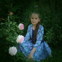 портрет с розами :: Сергей