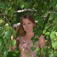 В листьях березы :: Сергей Тагиров