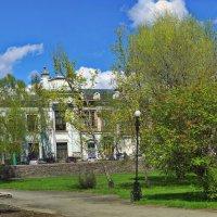 Весна в старом Бийске. :: Владимир Михайлович Дадочкин