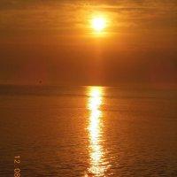 закат на Черном море :: игорь