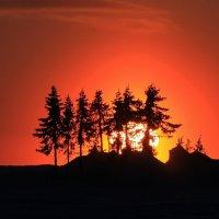 Восход в Заполярье :: Юрий Захаров