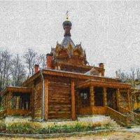 Храм в парке. :: Василий Ярославцев