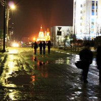 В дождливую погоду :: людмила Миронова
