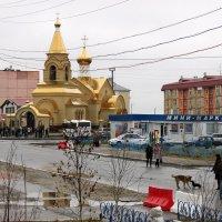 В день открытия новой церкви :: людмила Миронова
