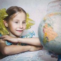 Глобус - модель Земли. :: Olga Zhukova