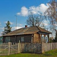 Старый деревенский дом :: Олег Кистенёв