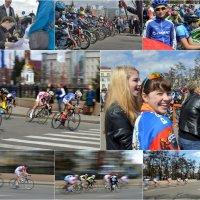велогонка – критериум «Фаворит-2016». :: Алексей Неустроев