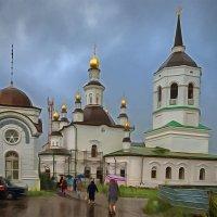 Церковь Казанской иконы Божией Матери. Томск, август :: Edward Metlinov