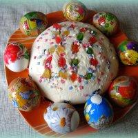 Творожная пасха к празднику. :: Мила Бовкун