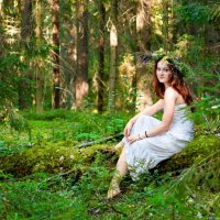 в лесу :: Тася Тыжфотографиня