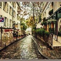 Узкая улочка после дождя :: Лидия (naum.lidiya)