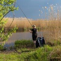 Весенняя рыбалка на Ржевке :: Игорь Вишняков