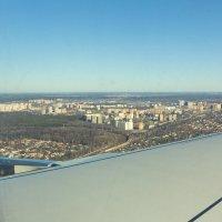 Под крылом самолета... :: Евгений Голубев