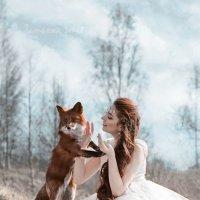 Девушка и лиса :: Tatyana Smit