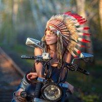жена индейца :: Андрей