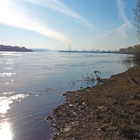 Раннее утро, река Томь, у Кемерова :: Олег Кистенёв