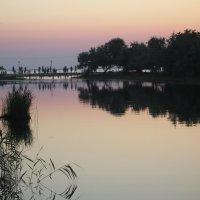 Закат на реке Анапке :: Balakhnina Irina