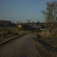 Мощенная дорога :: Геннадий Федоров