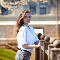 весенний портрет :: Олька Никулочкина