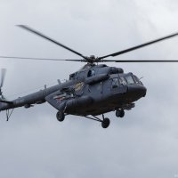 Ми-8АМТ возвращается с репетиции парада над Красной площадью :: Павел Myth Буканов