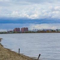 озеро,тучи,город :: Света Кондрашова