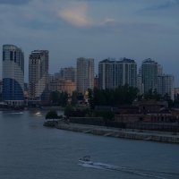 Краснодар, катание на катерах по реке Кубань :: Balakhnina Irina
