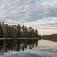 Северный дзен. Два неба. :: Evgeniy Kalinin