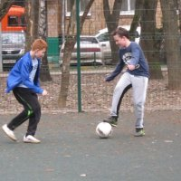 В борьбе за мяч :: Дмитрий Никитин
