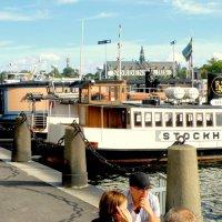 на набережной Стокгольма :: Сергей