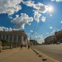На улицах весенней Москвы :: Игорь Герман